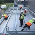 Steel Plant Deck Installation