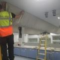Laboratory Air Sock Installation