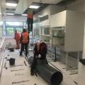 Laboratory Fume Cupboard Installation